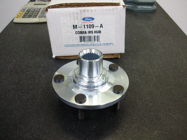 FT 6550P....ZINC PLATED FORD RACING HUB