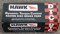 "Hawk DTC 60 track pads for the front of a 2013-2014 Shelby GT 500 with 15"" six piston Brembos"