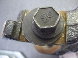 OEM eccentric camber adjustment bolt